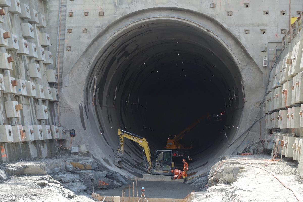 Einladung zum «Tag des offenen Tunnels» am Samstag auf die SBB BaustelleOlten-Aarau