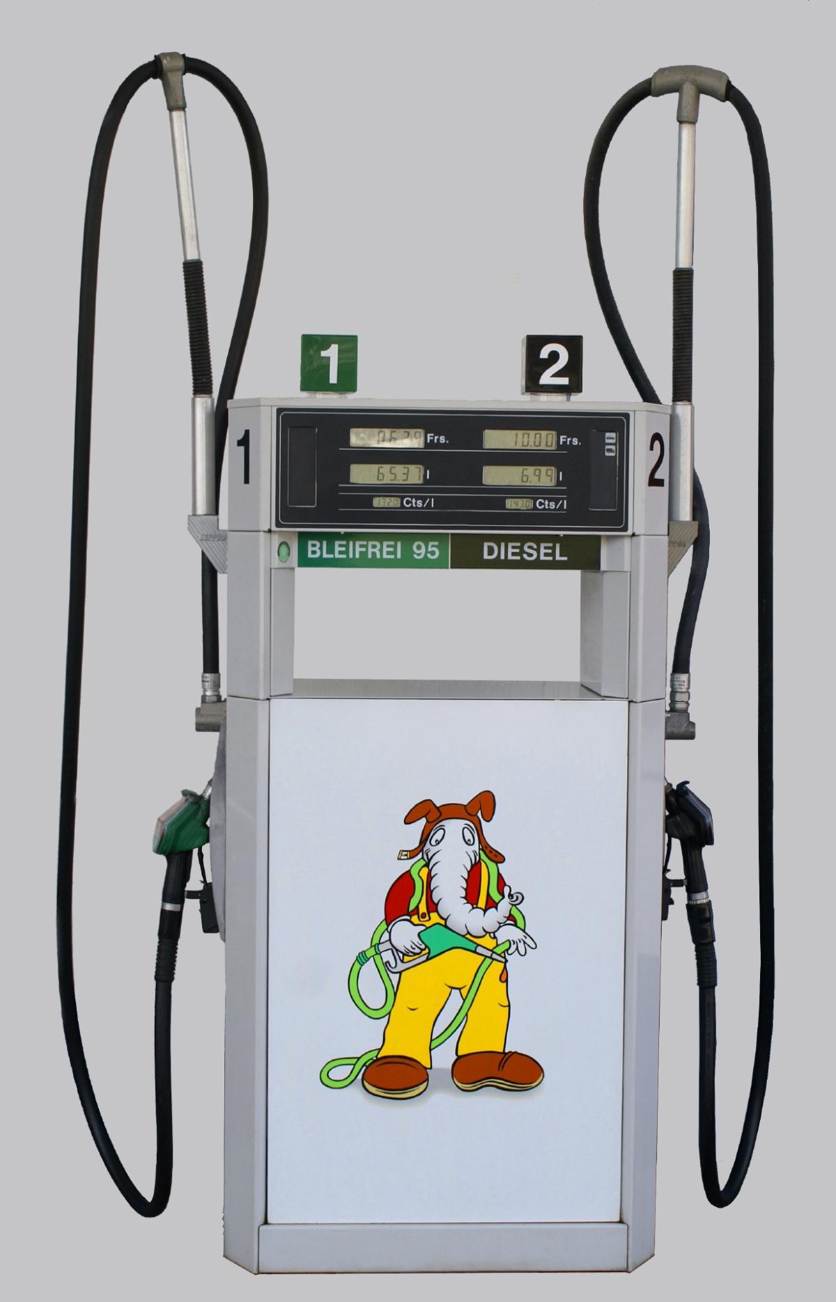 Ruedi Rüssel Tankstellenshop in Oltenüberfallen