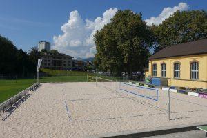 Beachvolley Strandbad Olten