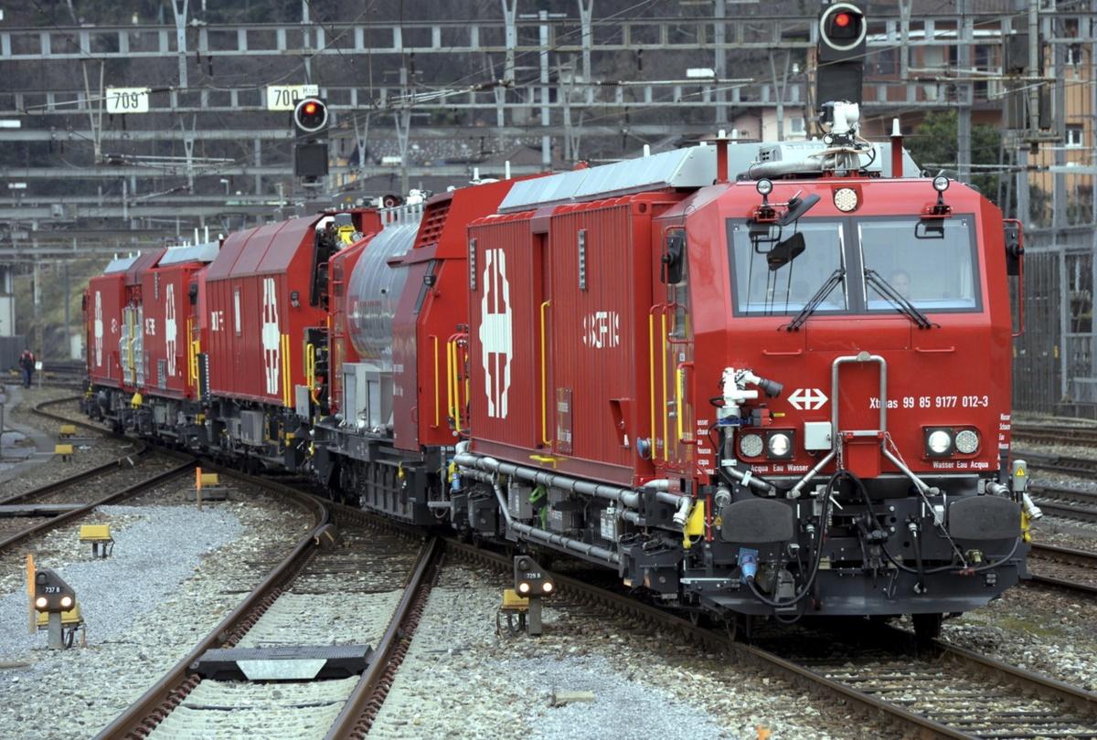 SBB bestellt drei neue Lösch- und Rettungszüge. Ein Zug fürOlten.