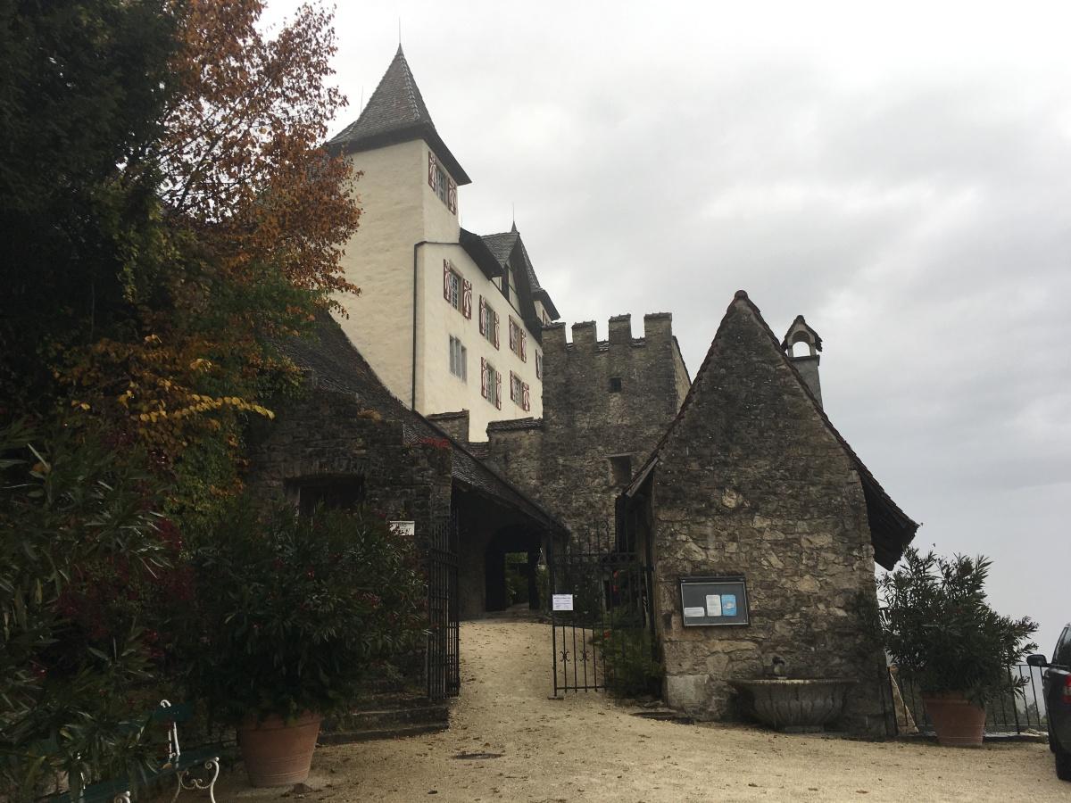 Schloss Wartenfels geht in denWinterschlaf