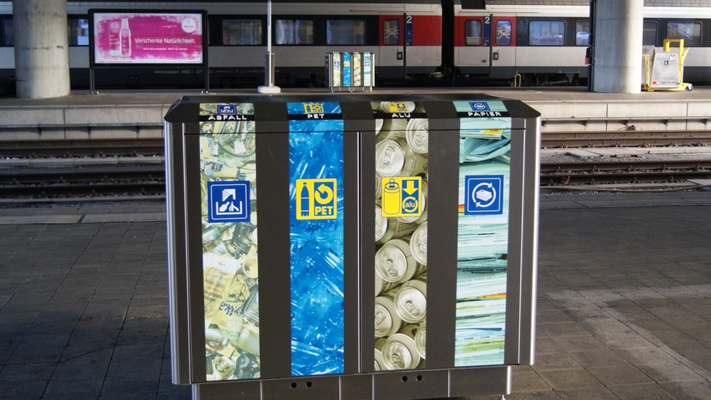 Recycling Station SBB