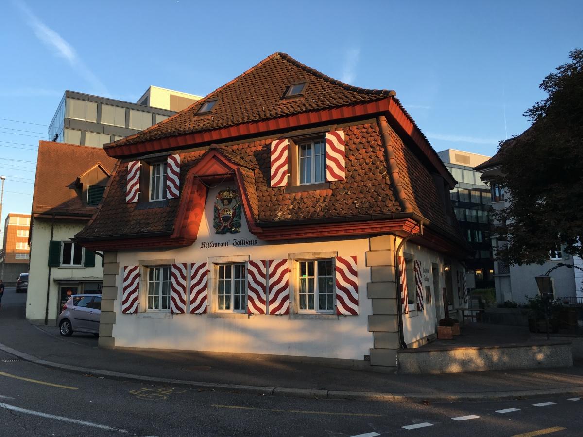 Zollhaus Olten – eine kulinarische Perle bei der altenHolzbrücke