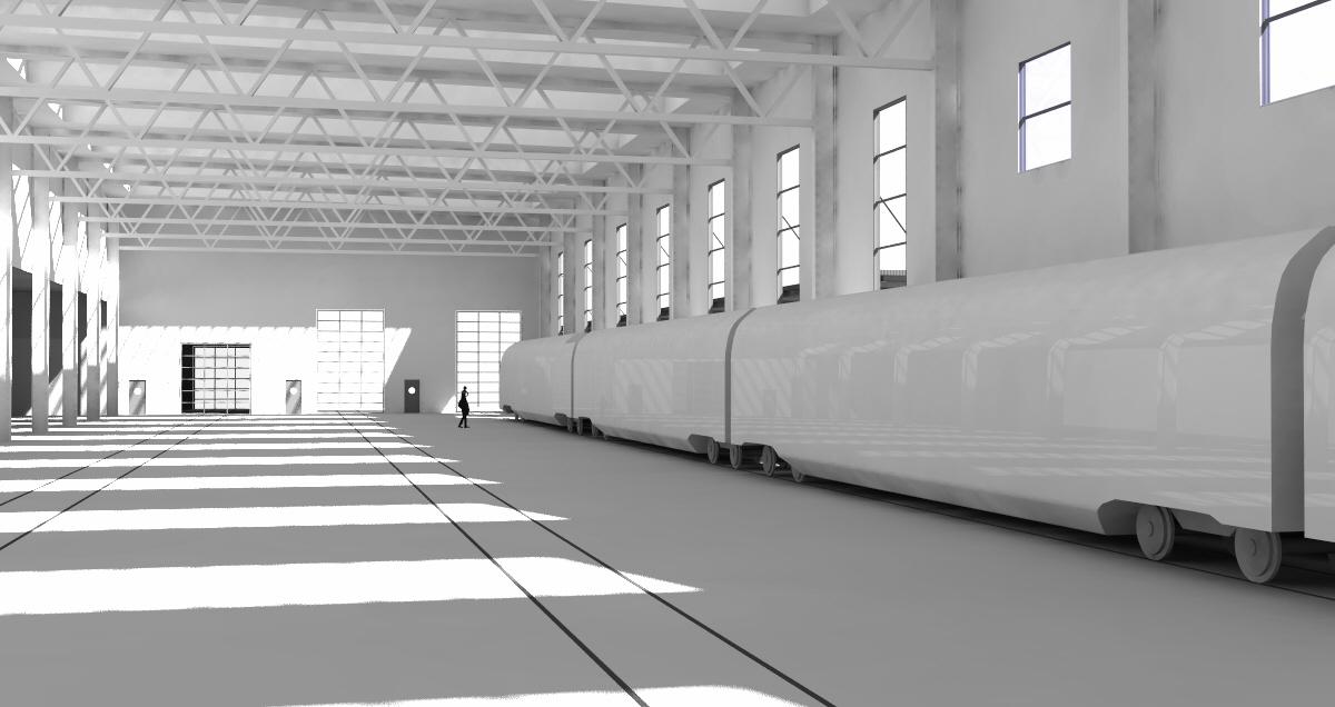 37 Mio Franken für Neubau einer Halle für den Fahrzeugunterhalt im SBB WerkOlten