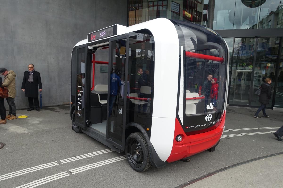 Selbstfahrende Shuttle-Busse für die Quartiererschliessung?