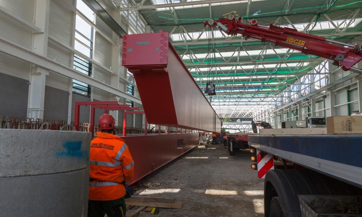 Ausbau SBB Werk Olten schreitetvoran