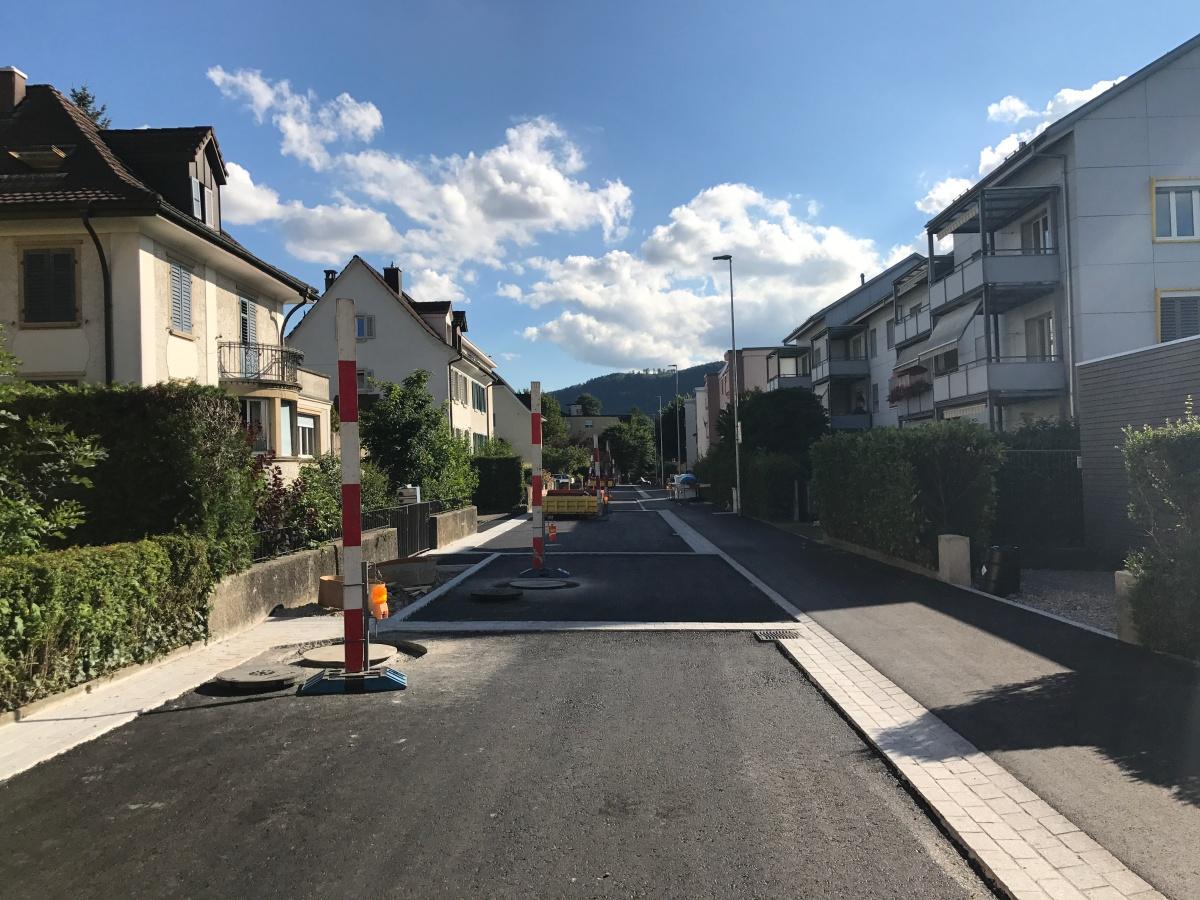 Sanierung der Gartenstrasse um Monateverzögert