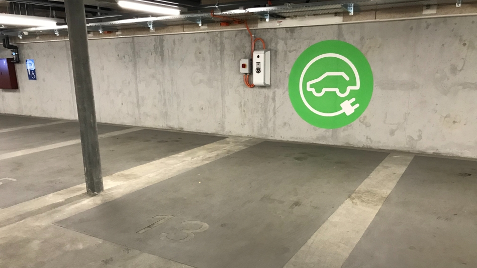 E-Tankstelle FHNW Riggenbachstrasse