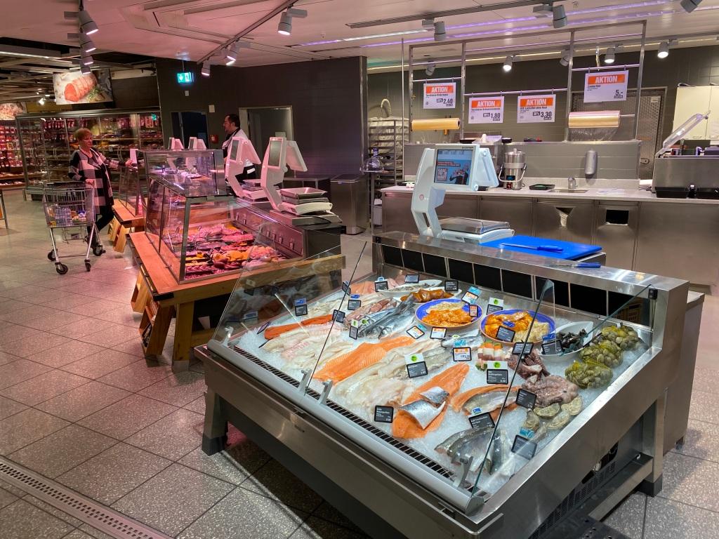Neue Fleisch- und Fischtheke Migros Olten