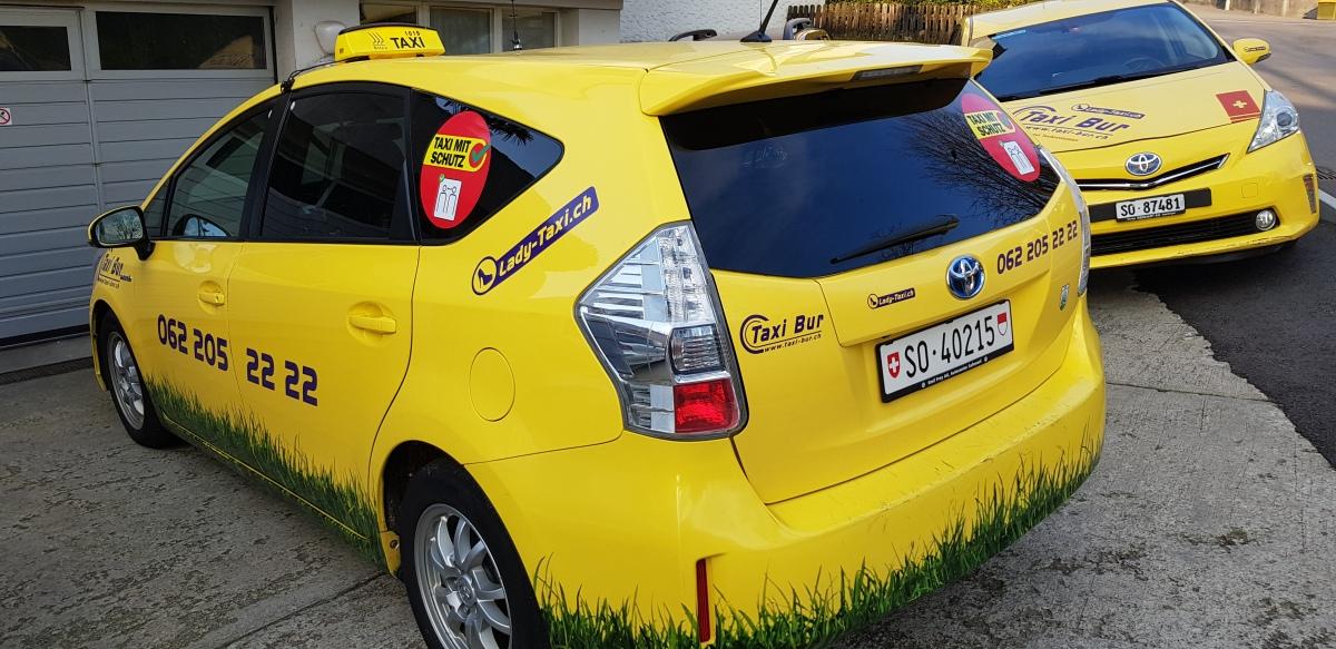 Taxi Bur schützt Fahrgäste undFahrer